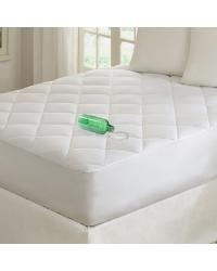 Premier Comfort Quiet Nights Waterproof Mattress Pad Full by