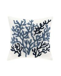 Harbor House Beach House Square Pillow by