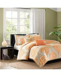 Senna 4 Piece Comforter Set Twin TXL by