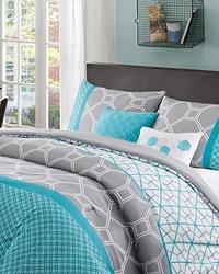 Clara 5 Piece Comforter Set Full Queen by