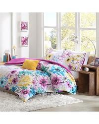 Olivia 5 Piece Comforter Set Full Queen by
