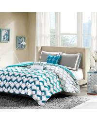 Finn 4 Piece Comforter Set Twin by