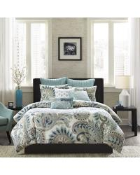 Mira 3 Piece Comforter Full Queen Set by