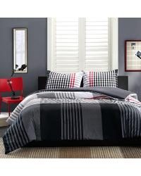 Ink Ivy Blake Duvet Set King by