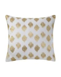 Nadia Dot Embroidered Square Pillow by