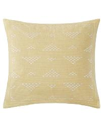 Cario Embroidered Square Pillow by