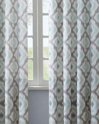 Ankara Aqua 50x95 Curtain Panel by