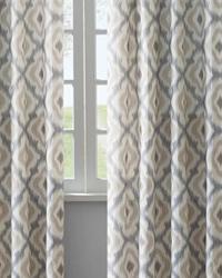 Ankara Taupe 50x84 Curtain Panel by