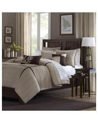 Madison Park Dune Comforter Set King by