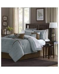 Madison Park Connell Comforter Set Queen Blue by
