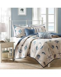 Madison Park Bayside Coverlet Set Full Queen by