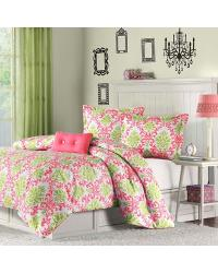 Katelyn Comforter Set Full Queen Pink by
