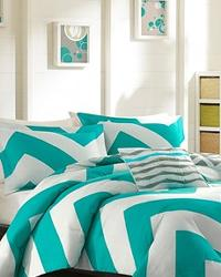 Mizone Libra Comforter Set Full Queen Blue by