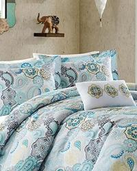 Tamil Blue Comforter Set Full Queen by