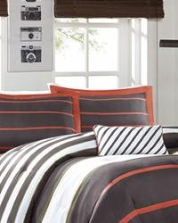 Ashton Grey Comforter Set Twin TXL by