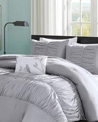 Mirimar Grey Comforter Set King by