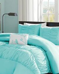 Mizone Mirimar Duvet Cover Set Full Queen Blue by