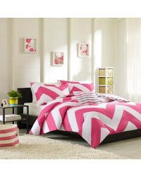 Mizone Libra Duvet Set Full Queen Pink by