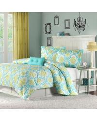 Katelyn Duvet Cover Set Twin TXL Blue by
