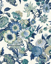 Global Chic Graceful Garden Wallpaper by