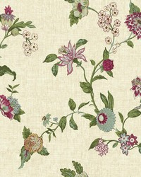 Global Chic Graceful Garden Trail Wallpaper by