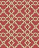 Waverly Wallpaper Global Chic Artistic Twist Wallpaper coral, beige