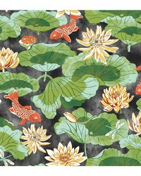 Waverly Classics II Lotus Lake Removable Wallpaper by