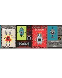 Robotic Border by  Waverly Wallpaper