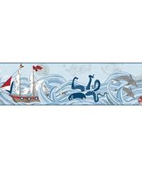 Ships Ahoy Border by  Waverly Wallpaper