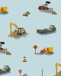Can You Dig It Wallpaper by  Waverly Wallpaper