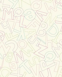 Alphabet Soup Wallpaper by