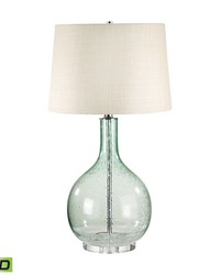 Green Seed Glass LED Table Lamp by
