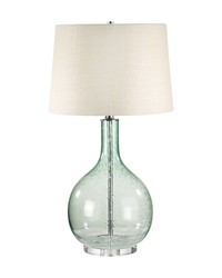 Green Seed Glass Table Lamp by