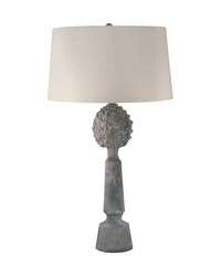 Earthenware Pineapple Top Ceramic Table Lamp by