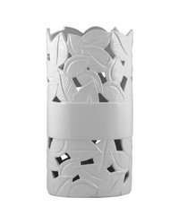 White Ceramic UpLight by
