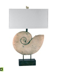 Nautilus Shell LED Table Lamp by