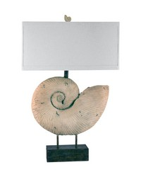 Nautilus Shell Table Lamp by