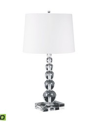 Estrella Crystal Orb LED Table Lamp by