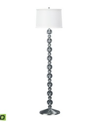 Crystal Ball LED Floor Lamp by