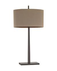 Wheatstone 1 Light Table Lamp In Bronze by