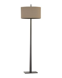 Wheatstone 1 Light Floor Lamp In Bronze by