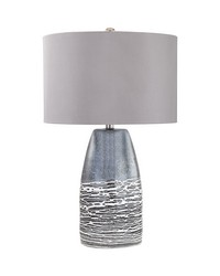 Kennebunkport 1 Light Table Lamp In Horizon Grey by