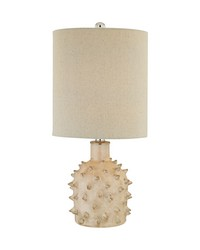 Kankada 1 Light Table Lamp In Cumberland Cream Crackle by