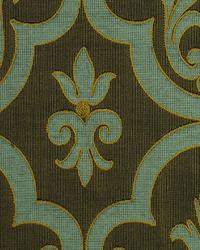 Gold Fleur de Lis Fabric  Grand Laurel Goldenrod