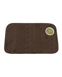 Sable Brown Faux Fur Bath Mat by
