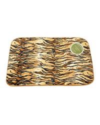 Tiger Faux Fur Bath Mat by