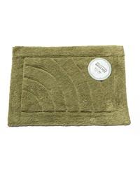 Medium-Sized Cotton Bath Mat in Sage by