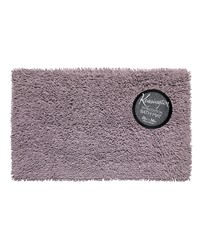 Shaggy Cotton Chenille Bath Room Rug Size  21x34 in Purple by