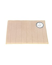 Medium-Sized Memory Foam Bath Mat in Ivory by