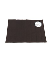 Medium-Sized Memory Foam Bath Mat in Brown by